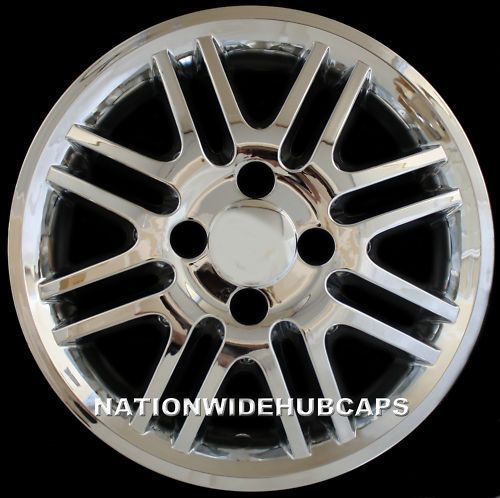 New Set Of 4 2000 11 Ford Focus 15 Chrome Wheel Skins Hub Caps 4 Lug Rim Covers Chrome Wheels Alloy Wheel Rim Hub Caps