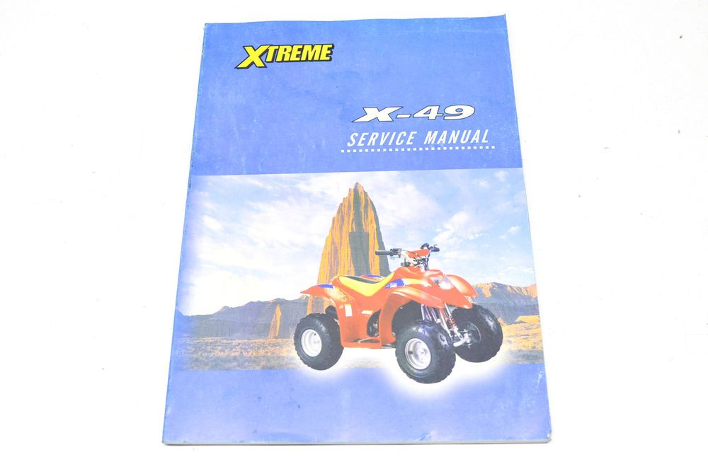 Xtreme X 49 Service Manual Nos Manual Yamaha Atv Polaris Atv