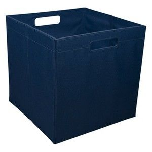 Attirant Itso Large Fabric Storage Bin   I Wonder If These Fit In IKEA Expedit  Bookcases.