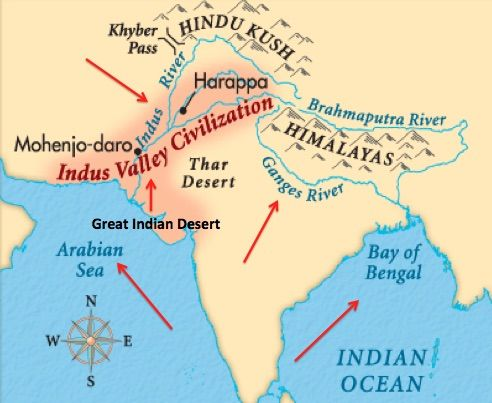 Indus Valley Civilization | Archaeogenetics | Pinterest ...