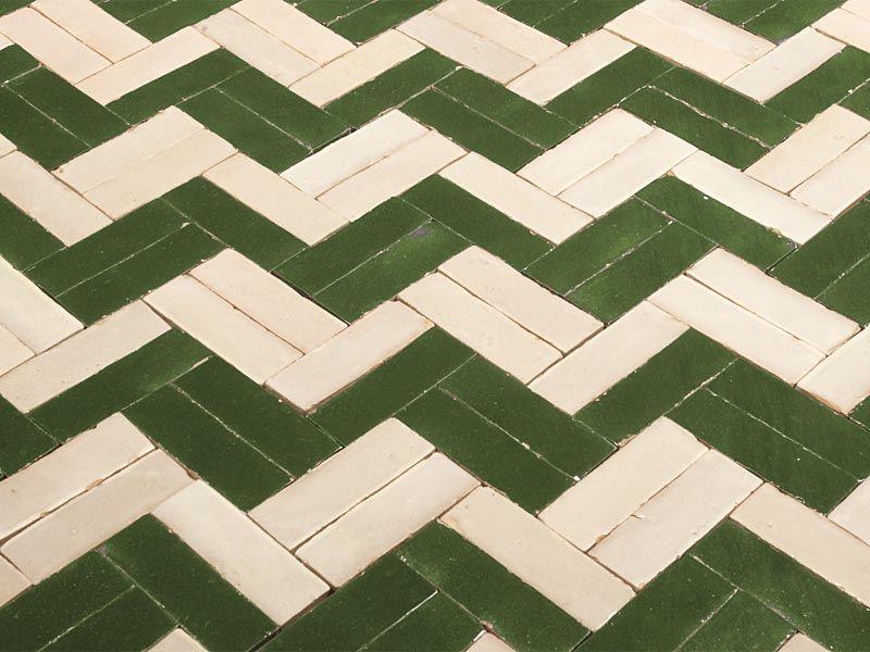 Pavimento piastrelle marocchine artigianali mosaici rivestimento