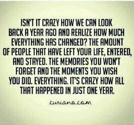 A Lot Can Happen In A Year Just Because Quotes Life Quotes