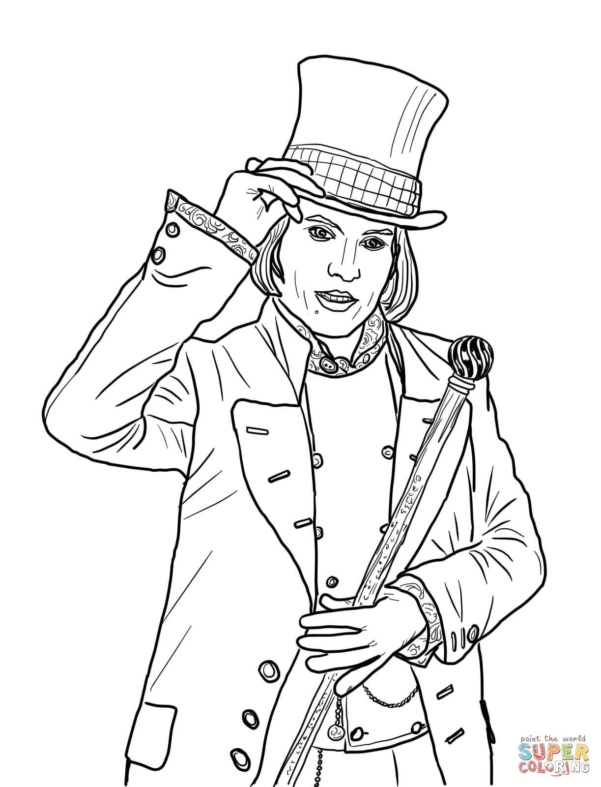 willy wonka coloring pages Pin by Rachel Crowell on coloring pages | Coloring pages, Willy  willy wonka coloring pages