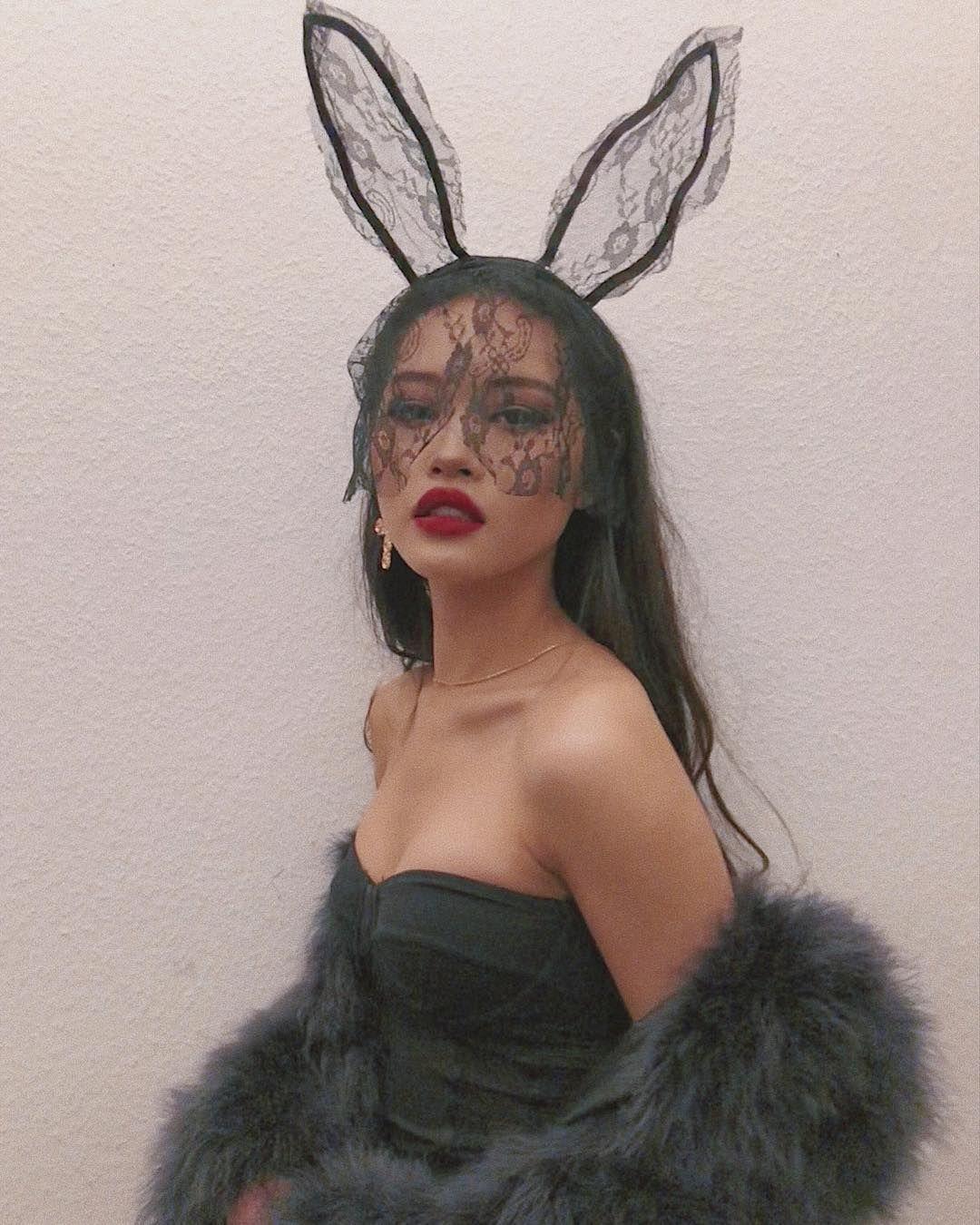 "Halloween Bunnys 2020 Ngoc. on Instagram: ""Bunny"" in 2020 | Bunny makeup, Halloween"