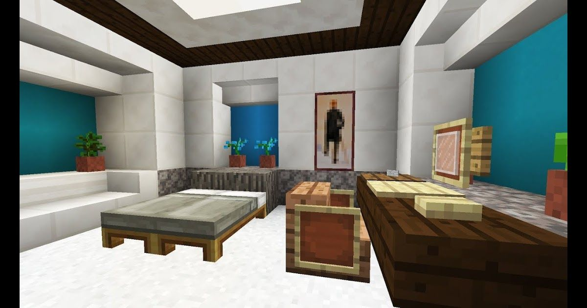 Minecraft Bedroom Interior Design Teenage Bed Designs Ittb Org Open Floo Minecraft Bedroom Decor Minecraft Interior Design Minecraft Interior Design Bedrooms Living room ideas in minecraft