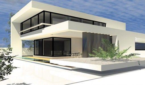 Moderne Häuser im Bauhausstil | Ibiza Houses | Pinterest | Maison ...