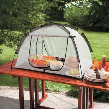 Heavy Duty Picnic Food Tent!! Cool idea for picnic party...protect & Heavy Duty Picnic Food Tent!! Cool idea for picnic party...protect ...