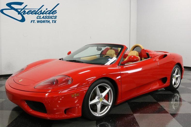 2002 Ferrari 360 F Spider Classic Cars Ferrari 360 Classic Motors