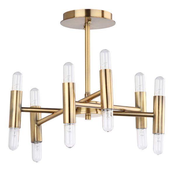 Mottla 12 light semi flush mount lights modern and foyers