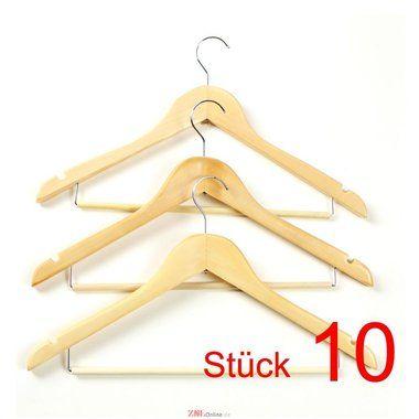 Neu Kleiderbügel Aus Holz für Garderobe HG01