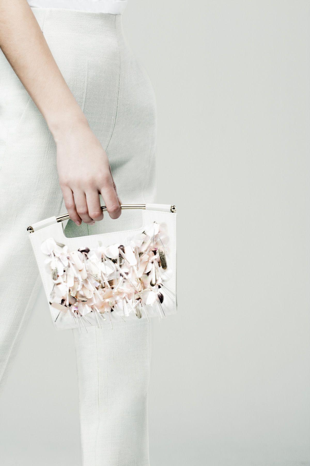 The #Delpozo Mini Gret bag.
