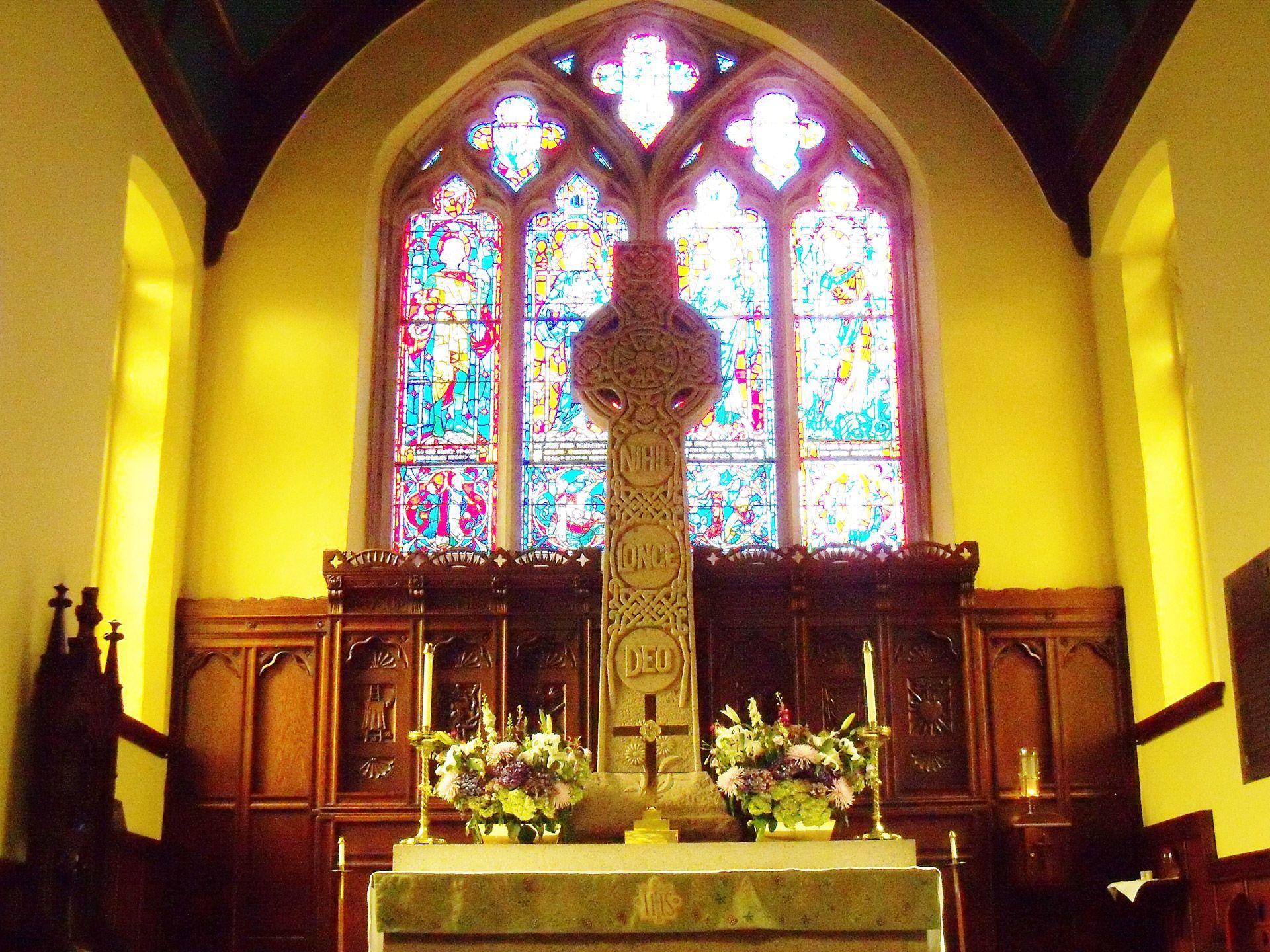 Beautiful Church Altar Wallpaper Download Free Hd