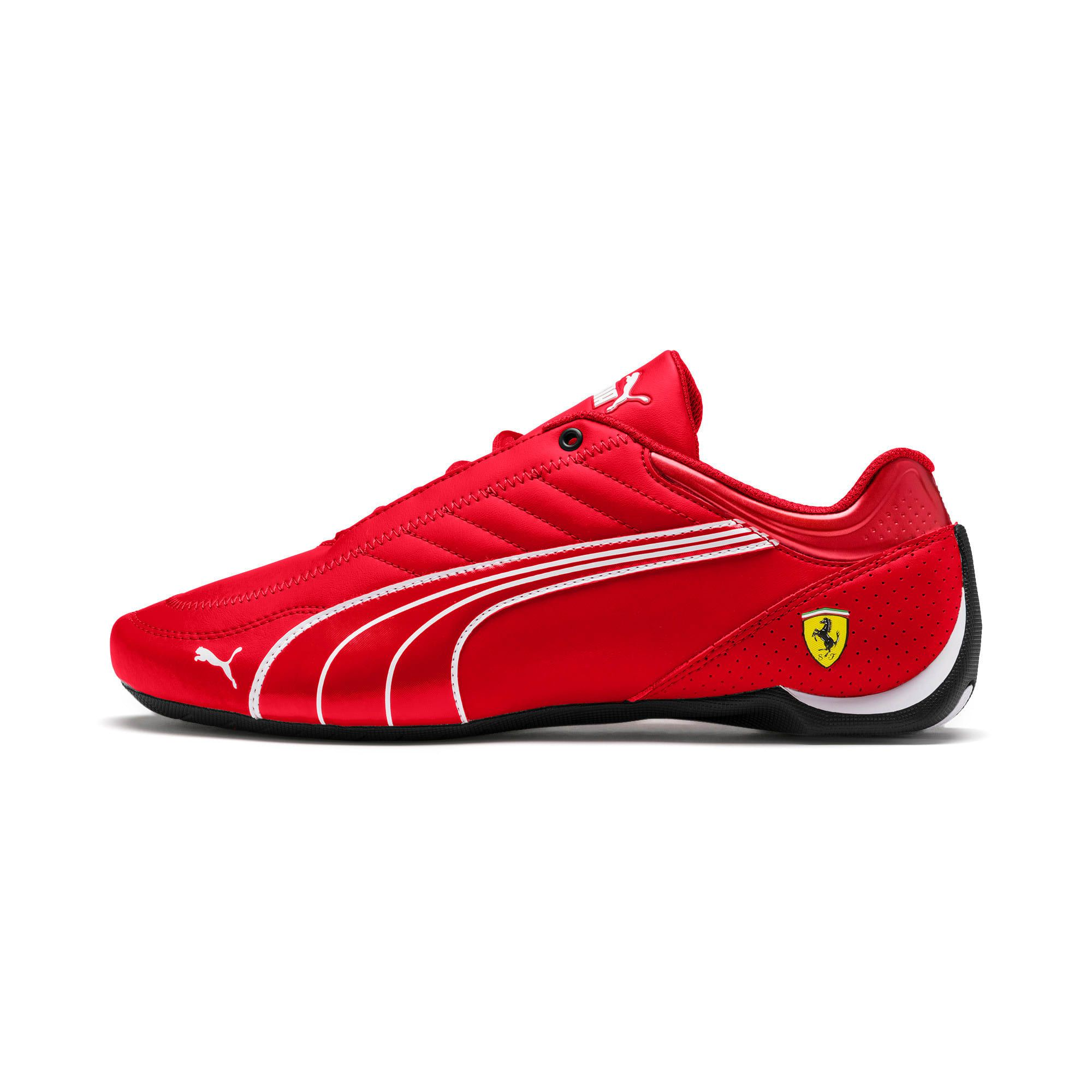 chaussures puma ferrari rouge femme