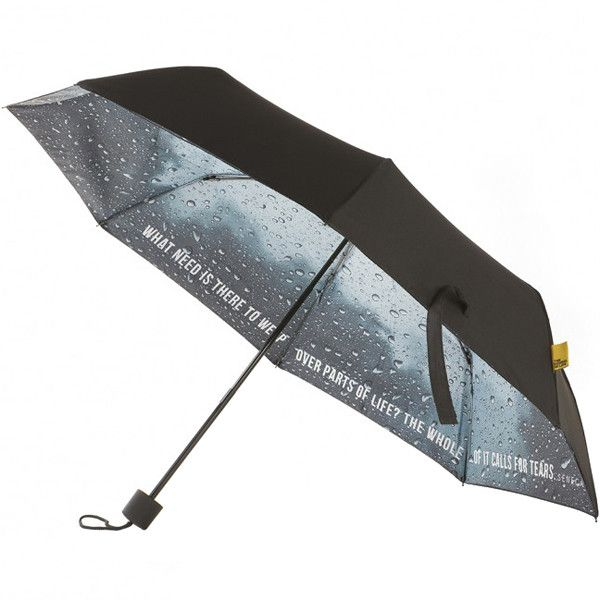 Pessimist Umbrella Gadget Gifts Childrens Umbrellas Lovers Art