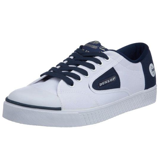 937ea0fa6eb Dunlop Men s 1555 Lace Navy Flash Trainer  Amazon.co.uk  Shoes   Bags