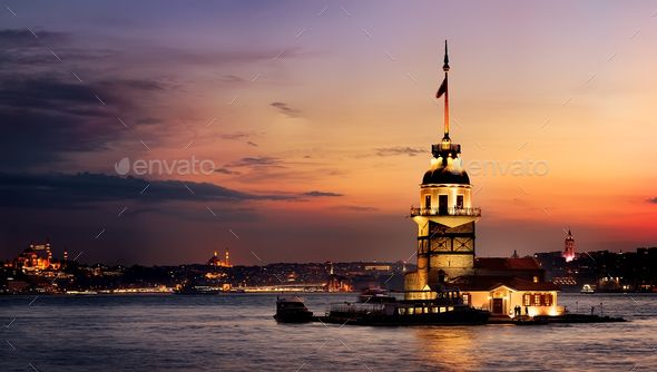 Maiden Tower At Sunset Architecture Photo Tower Ferry Building San Francisco