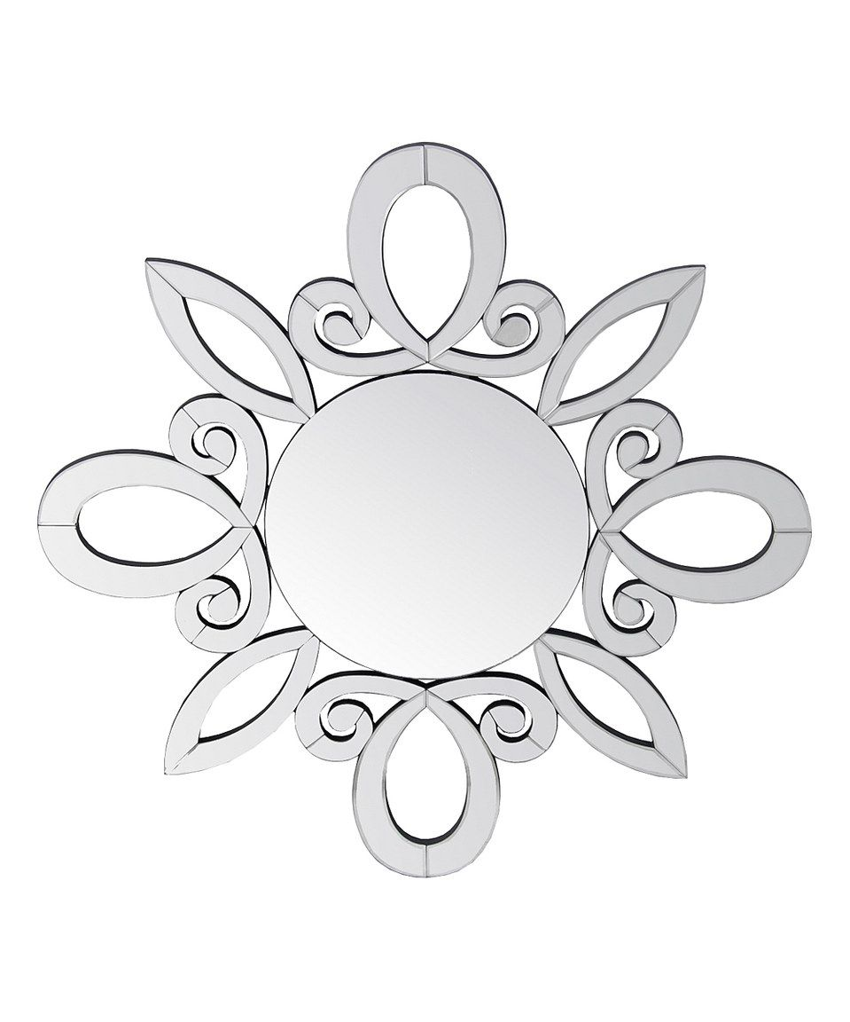 Look what I found on #zulily! Beveled Swirl Accent Mirror by Privilege #zulilyfinds