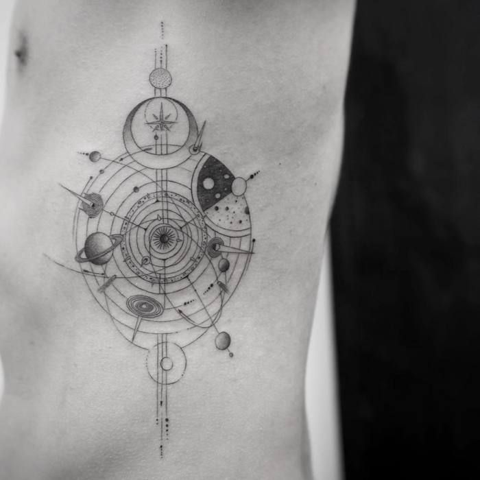 Fine Line Black And Gray Tattoos By Balazs Bercsenyi Page