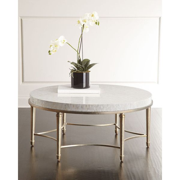 Cynthia Rowley For Hooker Furniture Aura Round Coffee Table Featuring  Polyvore, Home, Furniture,
