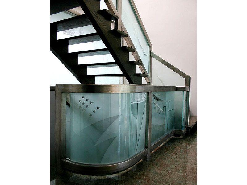 Best Etched Glass Railing G Rl15 Decor Interior Interiordesign Homedesign Homestyle Homewares 640 x 480