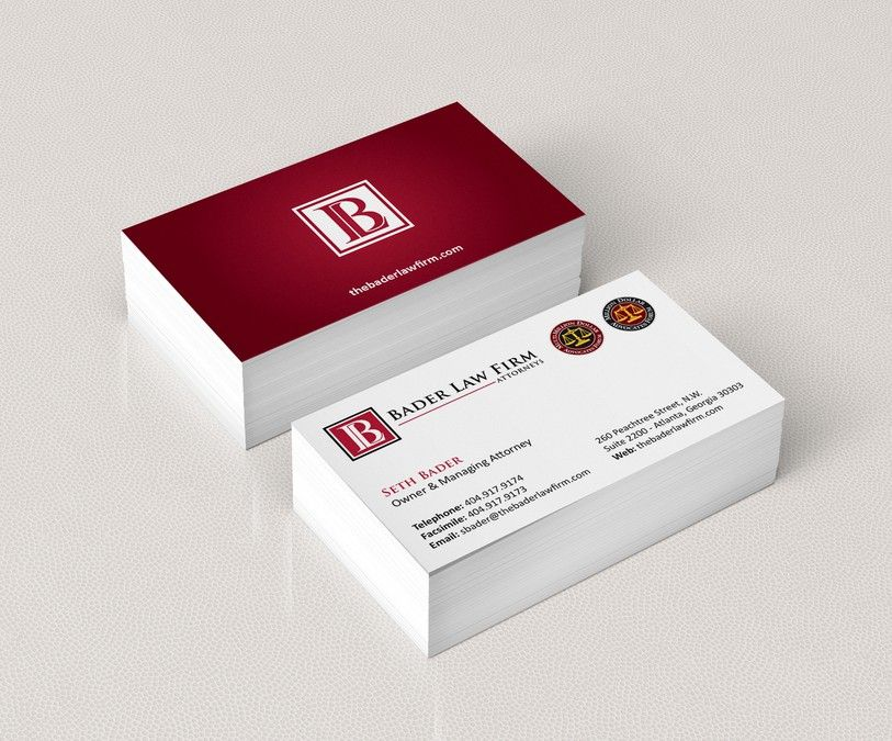 freelance Create business card for law firm! by pecas | Business ...