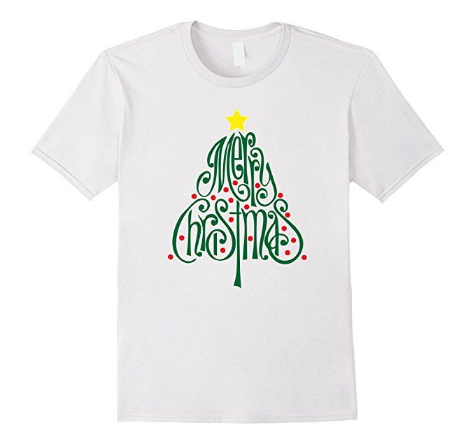 Amazon Com Merry Christmas Tree T Shirt Design Clothing Great T Shirts Shirt Designs Mens Tops