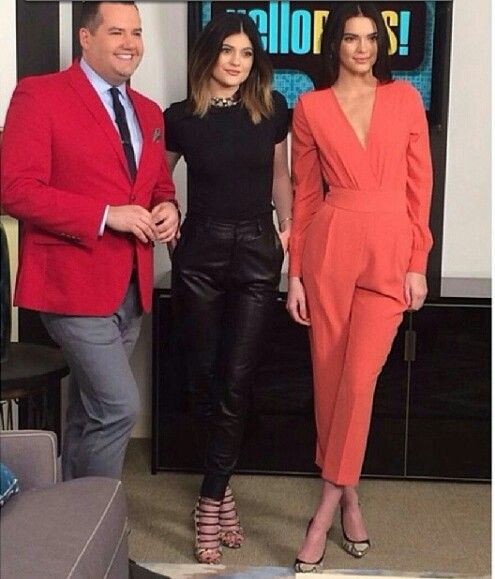 Kylie jenner and kendall jenner at hello rose