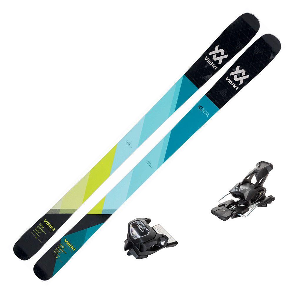 Details About 2019 Volkl Skis Kenja 163cm & Marker 11.0 TP