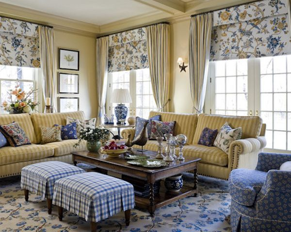 20 Impressive French Country Living Room Design Ideas Country
