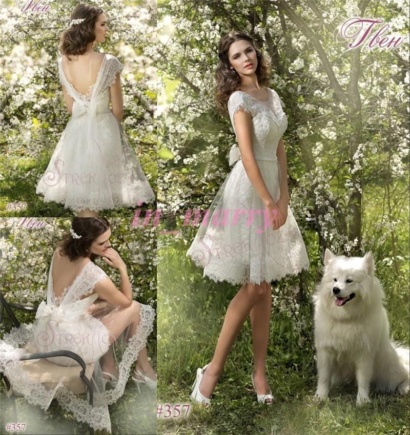 Short Country Wedding Dress at Exclusive Wedding Decoration and ...