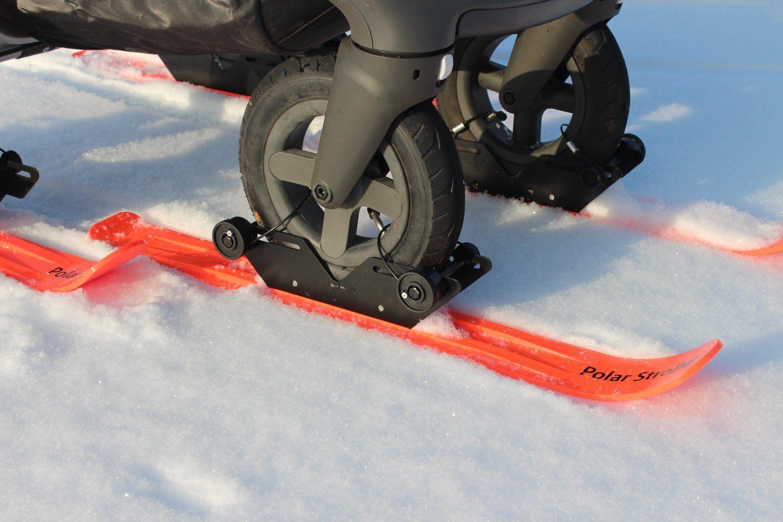 RX4 4 Wheel Stroller Ski Set en 2020 Équipement adapté