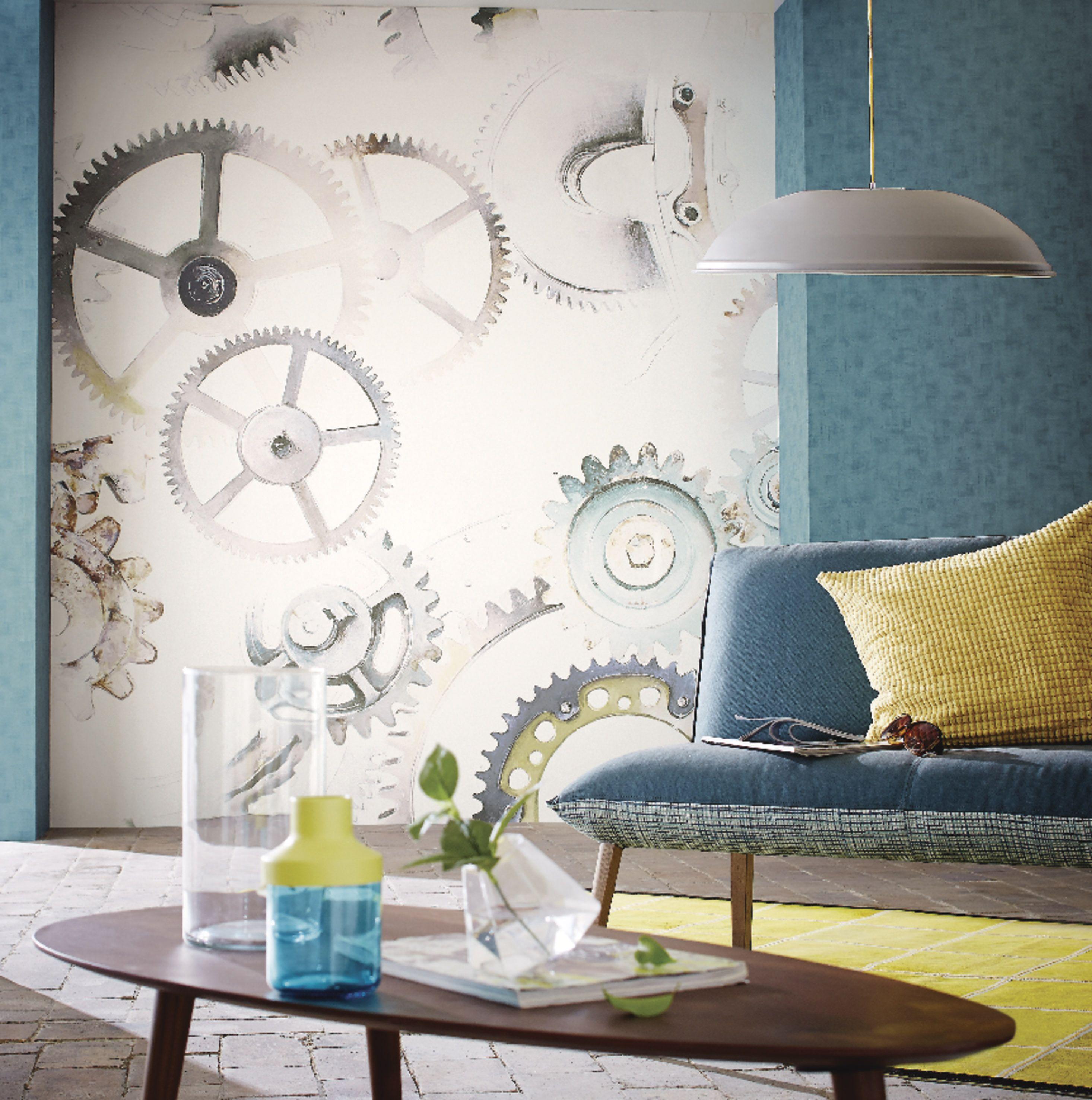 Papier Peint Loft Industriel : Collection papier peint loft esprit industriel vinyle