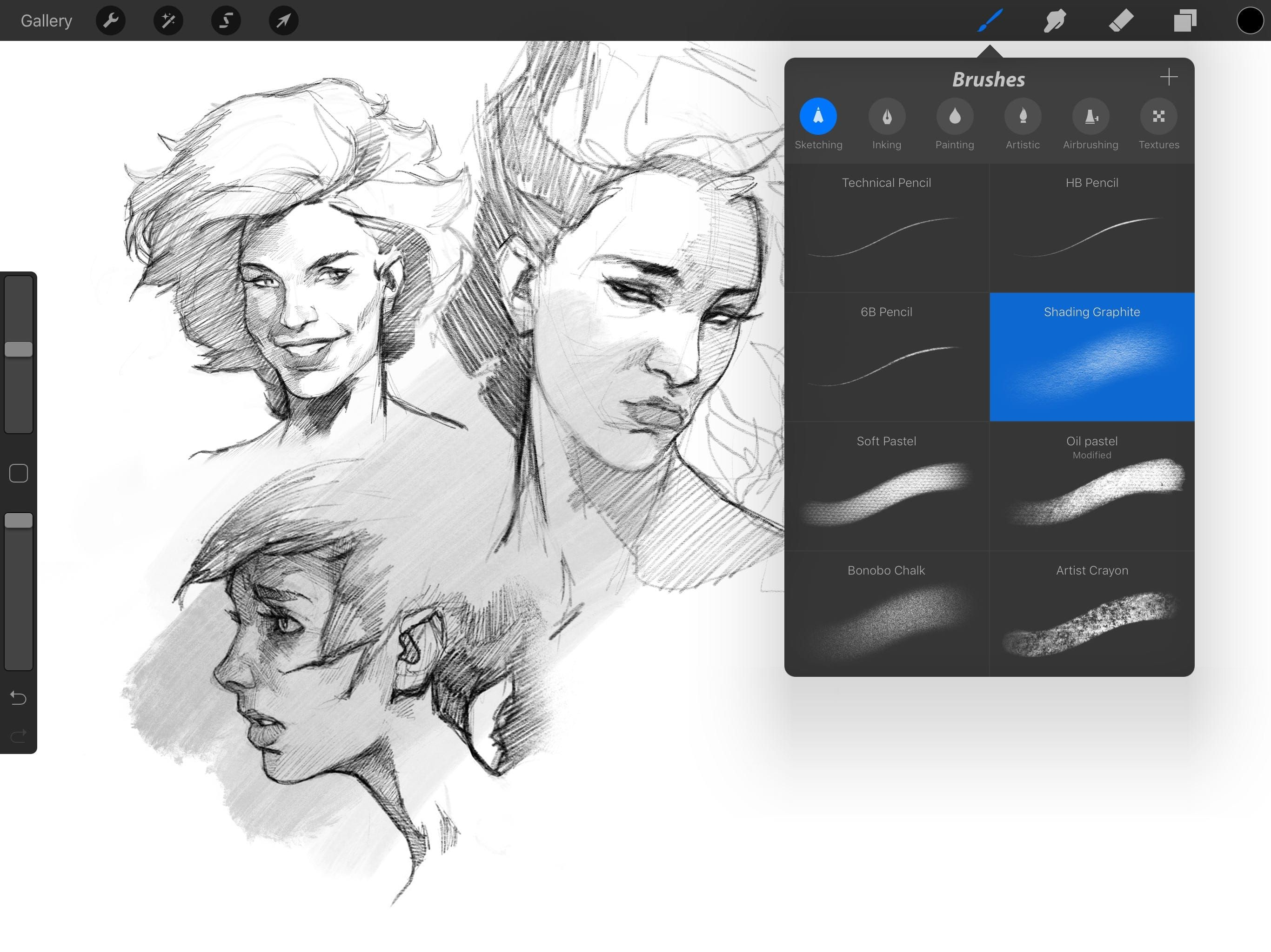 Our picks of the best free and premium procreate brushes available
