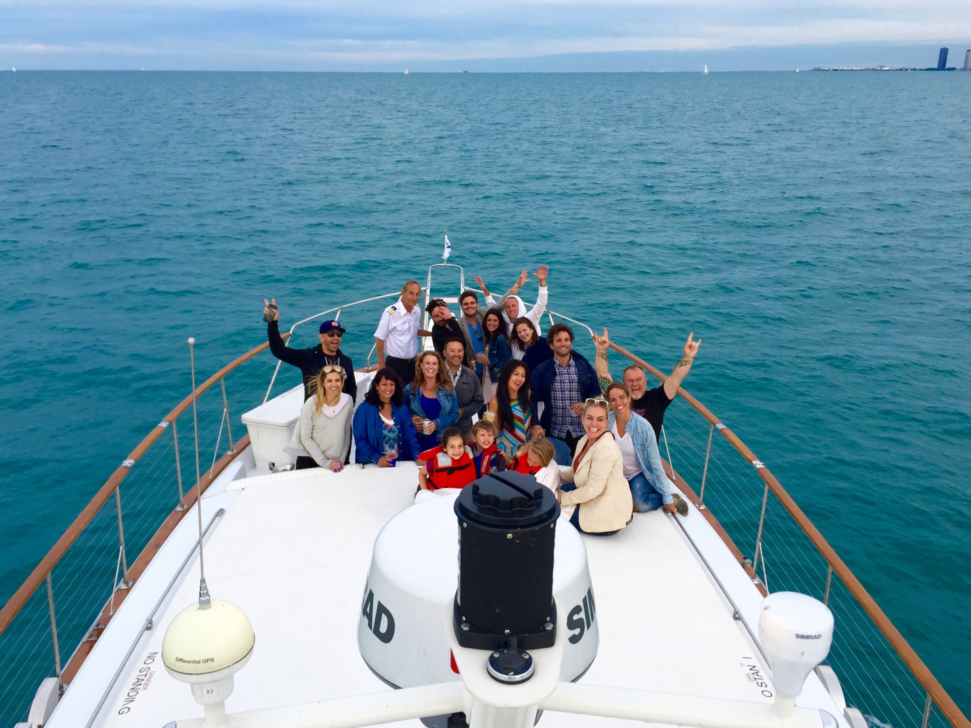 Adeline's Sea Moose is Chicago Private Yacht Rentals premier floating venue! Docked seasonally at Burnham Harbor near downtown Chicago, she is the perfect floating venue for all types of events and celebrations! Host your own private fireworks show! www.chicagoprivateyachtrentals.com #navypier #customevents #navypierfireworks #fireworks #lakemichigan #burnhamharbor #searstower #docent #johnhancock #adelinesseamoose #pirvateyacht #floatingbar #floatingvenue #rivertours #architecturetours