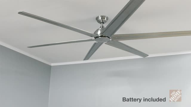 Home decorators collection fenceham 84 in brushed nickel ceiling fan yg491 bn at the home depot mobile