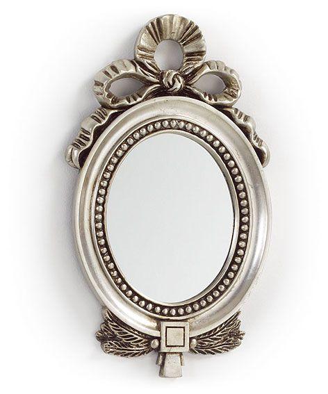 Muebles espejo plata redondo - Espejos con marco plateado ...