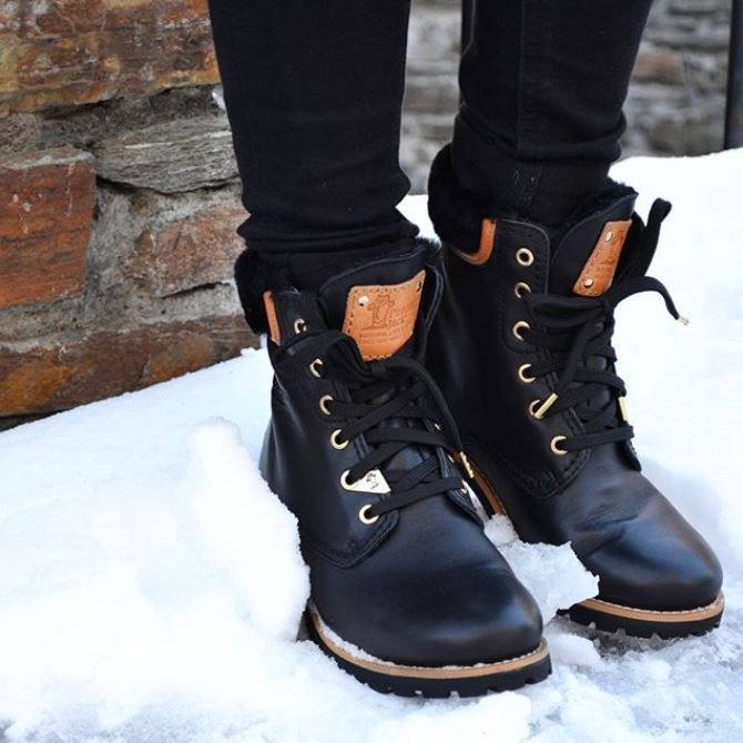 official photos temperament shoes cheap price PANAMA JACK - PANAMA 03 IGLOO TRAVELLING - Noir   Boots, Winter ...