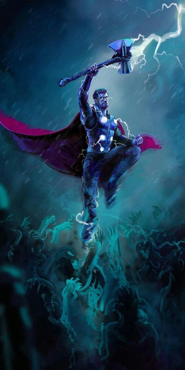 Thor Infinity War Thor Wallpaper Marvel Thor