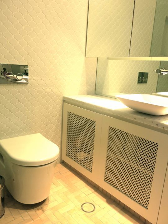 Bathrooms | Joinery, Pressed metal and Powder room