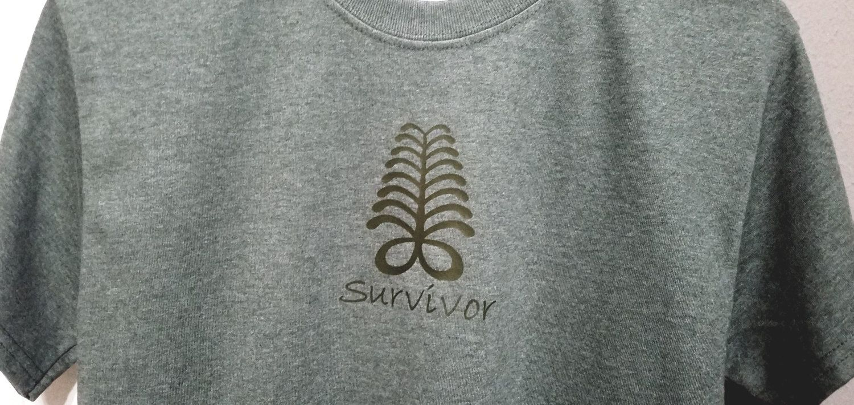 Adinkra Symbol T-Shirt/Survivor/Endurance/African Symbol/West Africa/Gift Idea…