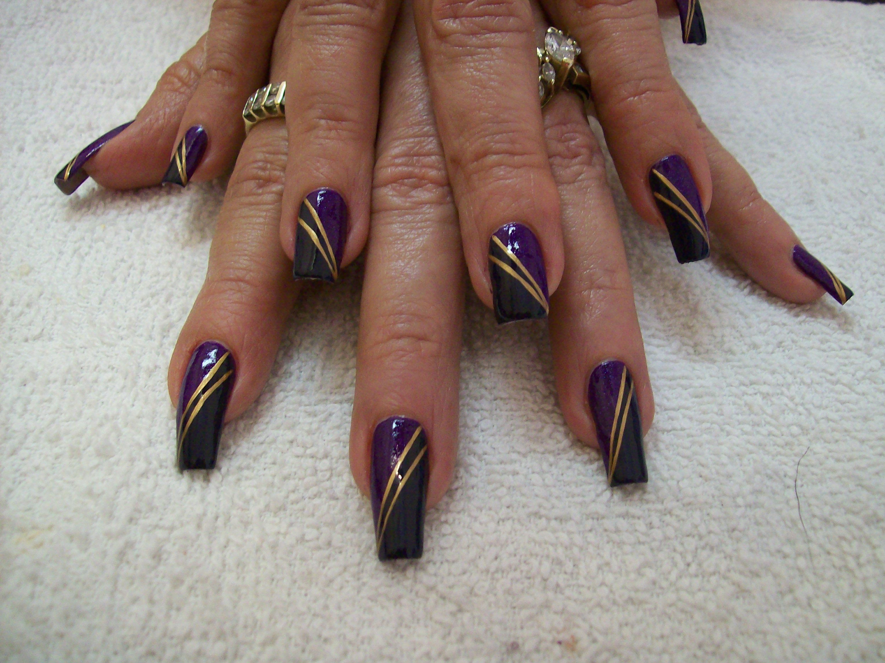 Nail art freehand by penny brown nm miss susan a nail art by