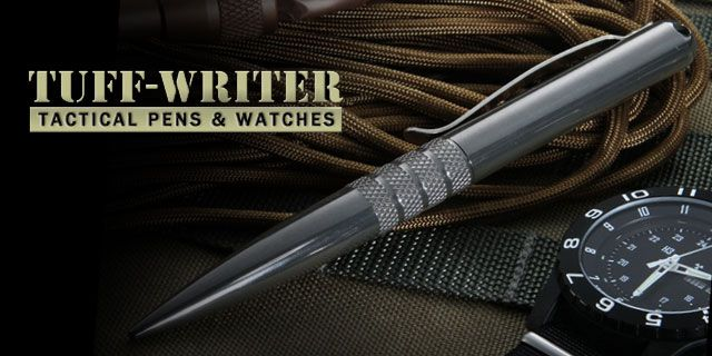 Tuff-Writer Mini-Click Tactical Pen