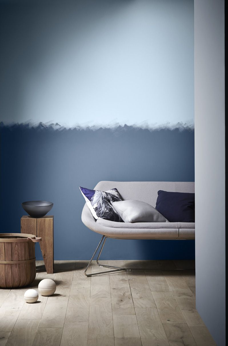 Trends Skyscapes Crown Paints Blue Bedroom Walls Blue Bedroom Paint Blue Painted Walls #two #toned #walls #living #room