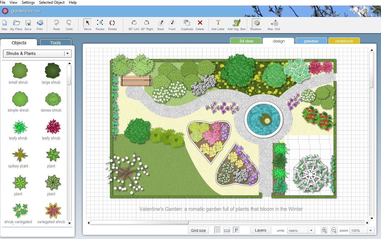 The 7 Best Virtual Garden Planners To Cultivate Your Green Thumb Garden Planner Garden Landscape Design Free Landscape Design Software