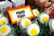Perfect for an Angry Birds party #angrybirds #party #treats