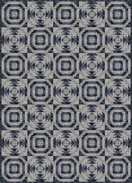 Try This Versatile Paper Pieced Pineapple Quilt Pattern Free