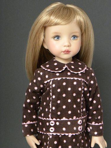 Dress for Effner Little Darlings