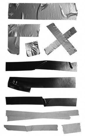 Free Brushes - 20 Free Tape Photoshop Brushes | Think Design #PhotoshopFreebies