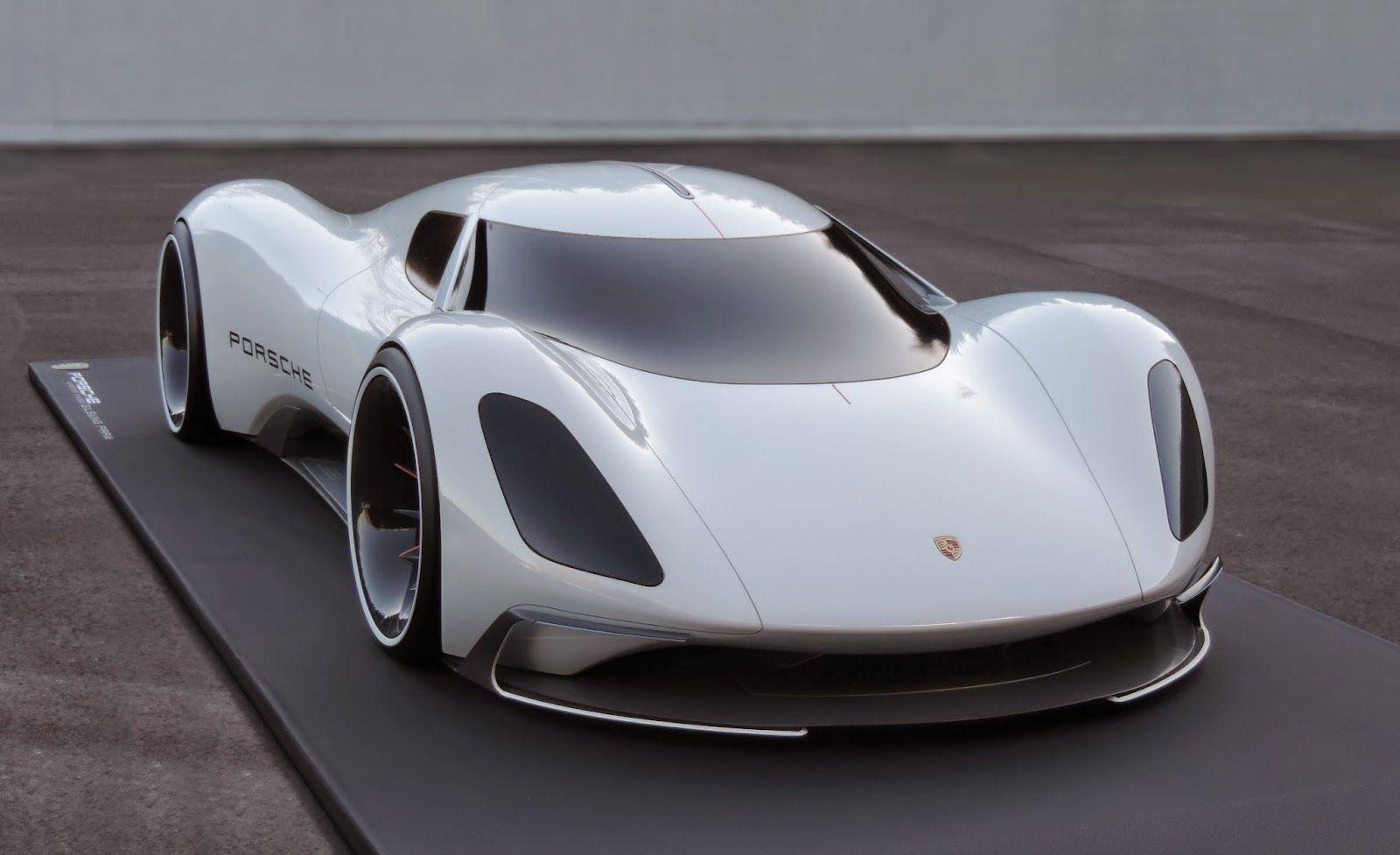 Porsche Electric Le Mans 2035 Prototype Front End Cool Sports Cars Porsche Electric Sport Cars
