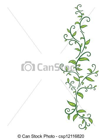 73986016b Vine with leaves.   Pattern Reference Pictures   Tribal drawings ...